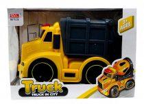 Kukásautó - elemes - dobozban - 82001