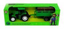 Traktor pótkocsival - dobozban - 82011