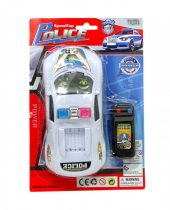 Autó - police - vezetékes - elemes - 82095