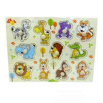 Fa puzzle - bedugós állatok - 82185