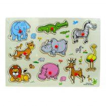 Fa puzzle - bedugós állatok - 82188