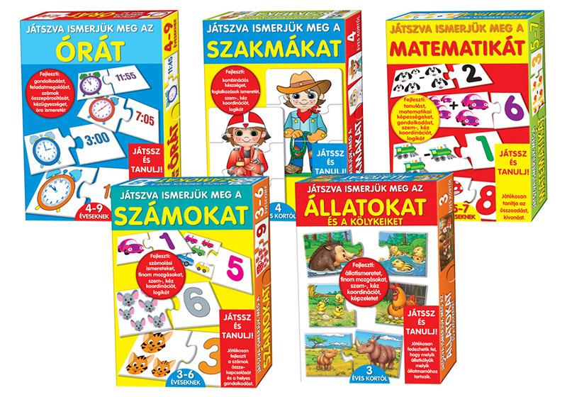 Késességfejlesztő játékok kisiskolás gyerekeknek.